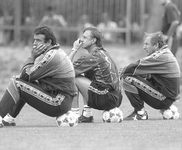 cruyff football entraineur barça